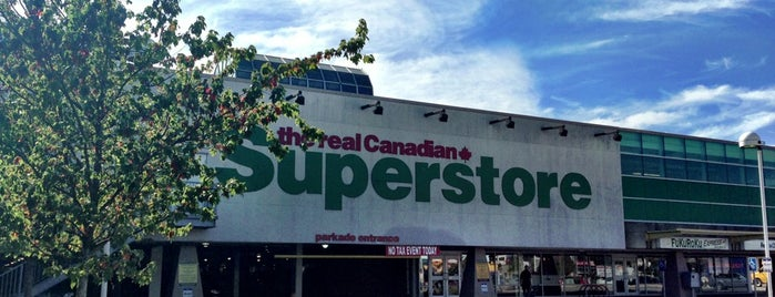Real Canadian Superstore is one of Shoppers Drug Mart Stores.
