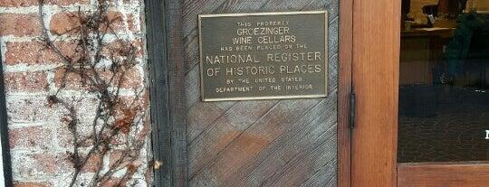 Groezinger's Wine Merchant is one of Napa Valley.