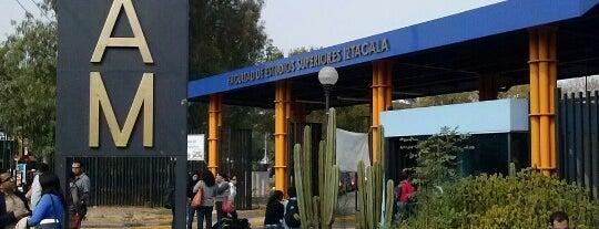 FES Iztacala is one of สถานที่ที่ Moisés ถูกใจ.