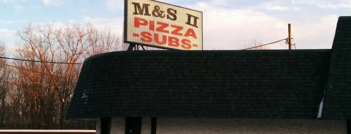M&S Pizza II is one of Lizzieさんの保存済みスポット.