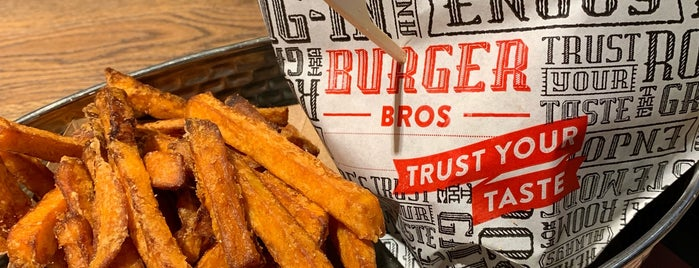 Burger Bros is one of Lieux qui ont plu à Serhan.