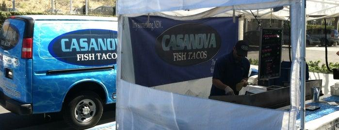 Casanova Fish Tacos is one of Tempat yang Disimpan Rick.