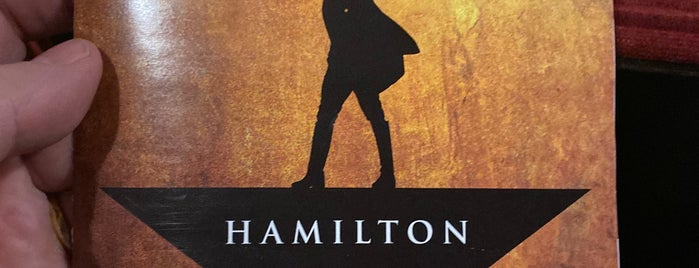 Hamilton The Musical is one of Lieux qui ont plu à Danette.