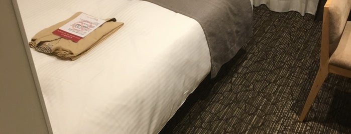 Almont Hotel Asakusa is one of 冰淇淋 님이 좋아한 장소.