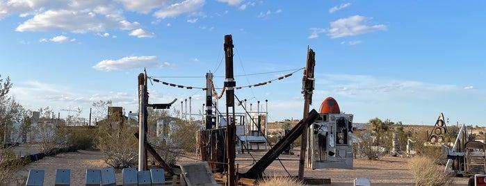Noah Purifoy Outdoor Desert Museum is one of J Tree.