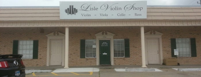 Lisle Violin Shop is one of houston nothing.
