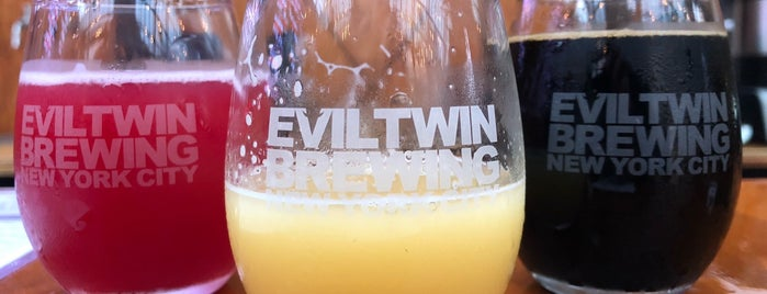 Evil Twin Brewing NYC is one of Beer / Ratebeer's Top 100 Brewers [2019].