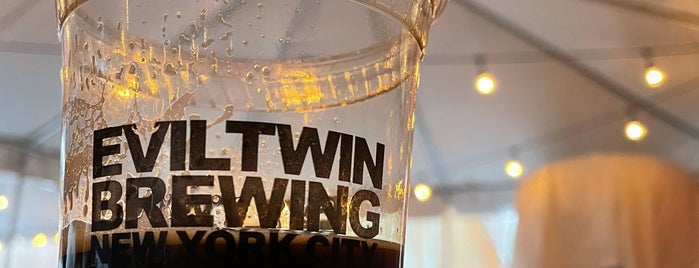 Evil Twin Brewing NYC is one of lunch/brunch to try.