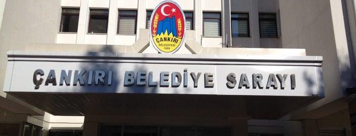 Çankırı Belediyesi is one of Lugares favoritos de Evren.