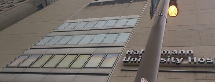Hahnemann University Hospital is one of สถานที่ที่บันทึกไว้ของ Lani.