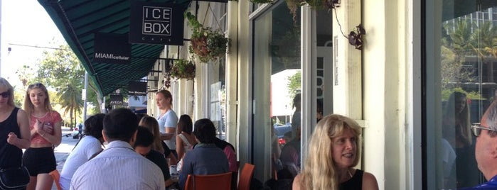 Icebox Cafe is one of Ultimate South Beach List.