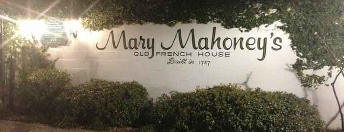 Mary Mahoney's Old French House is one of Lugares favoritos de ATL_Hunter.