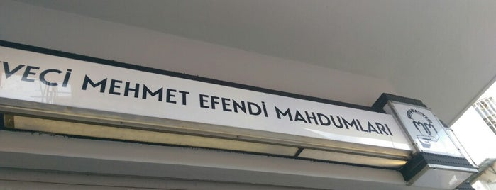 Kurukahveci Mehmet Efendi Mahdumları is one of Istanbul.