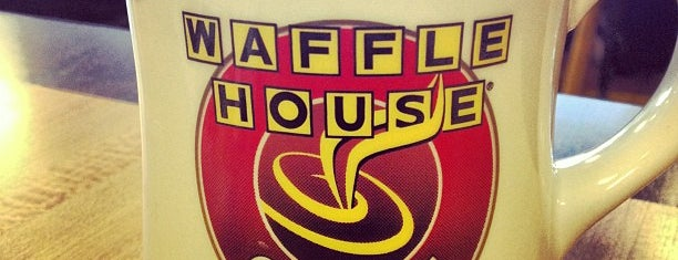 Waffle House is one of Lieux sauvegardés par David.