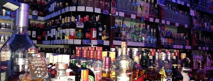 Tayfalı Tekel Shop is one of En İyi Tasarımlı Şarap Ve İçki Mağazaları.