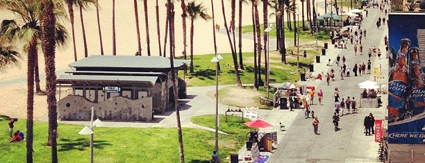 Venice Beach is one of Bruno goes to California.