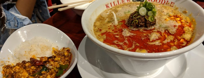 Killer Noodle by Tsujita is one of LA.