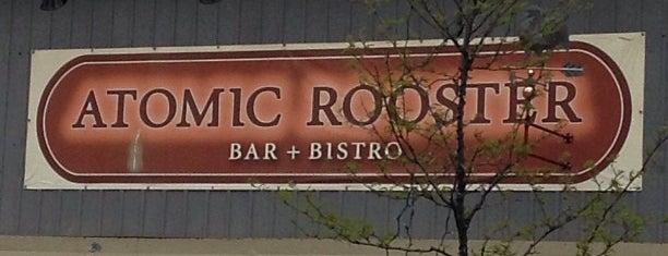 Atomic Rooster is one of Tempat yang Disukai Adina.