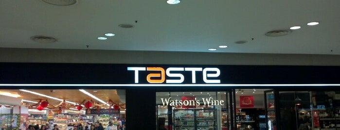 TASTE is one of Lugares favoritos de Shank.