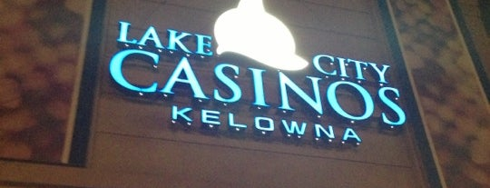 Lake City Casino - Kelowna is one of Locais curtidos por Ian.