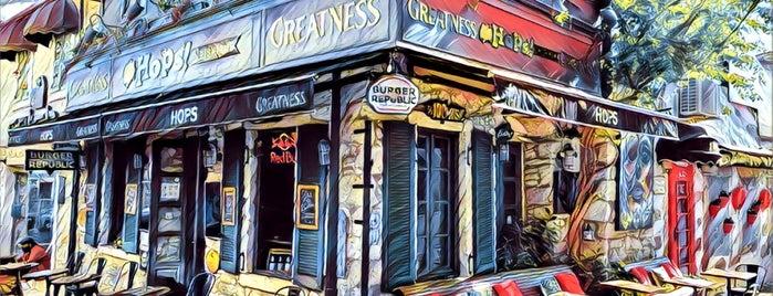 Hops Irish Pub&Stage is one of Pub/Bar.
