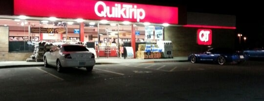 QuikTrip is one of Marty mar always love and thanks.