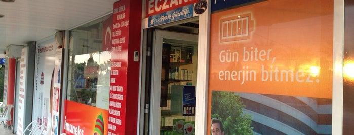 Cerrahoğlu eczanesi is one of Locais curtidos por Serpil.