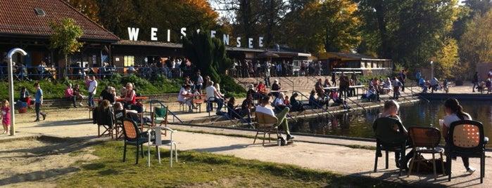 Strandbad Weißensee is one of berlin fur kinder.