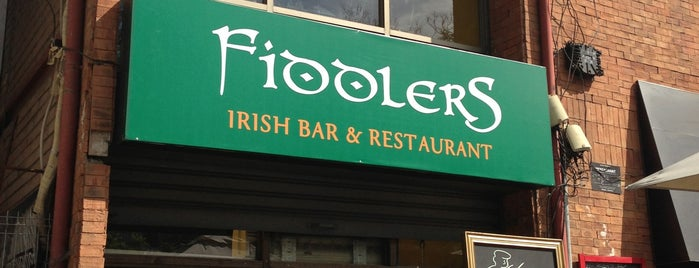 Fiddlers Irish Bar is one of Lugares favoritos de Francisco.