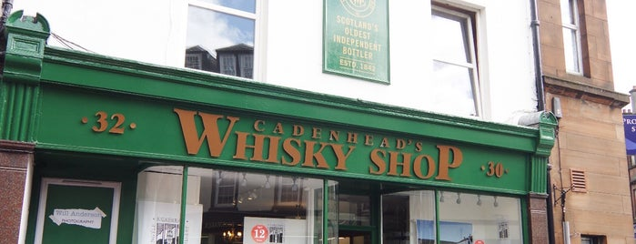 Cadenheads Whisky Shop is one of Scotland Other.