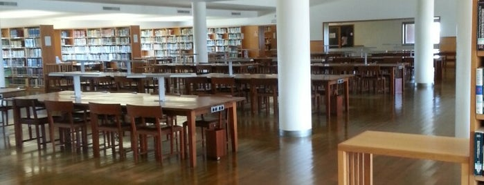Biblioteca da Universidade de Aveiro is one of Pc friendly & Free WIFI @Aveiro.