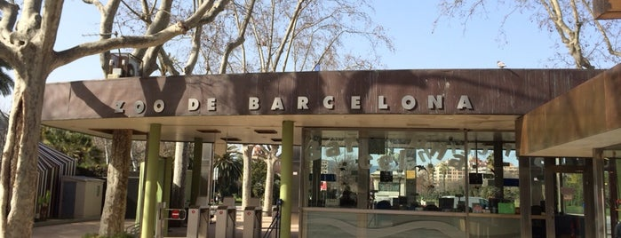 Zoo de Barcelona is one of Barcelona, Spain.