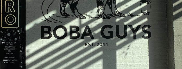 Boba Guys is one of SF Chinese Dessert.