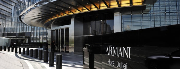 Armani Hotel Dubai is one of Lugares guardados de Nora.