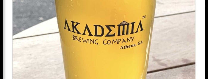 Akademia Brewing is one of Nateさんのお気に入りスポット.