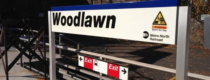 Metro North - Woodlawn Train Station is one of Orte, die Mary gefallen.