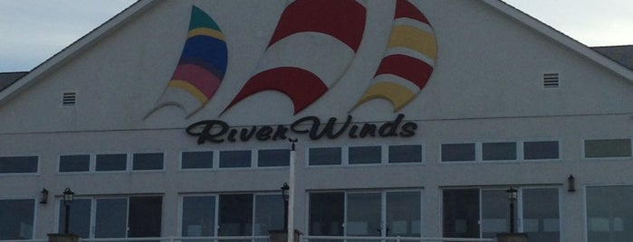Riverwinds Restaurant is one of Lugares favoritos de Mimi.