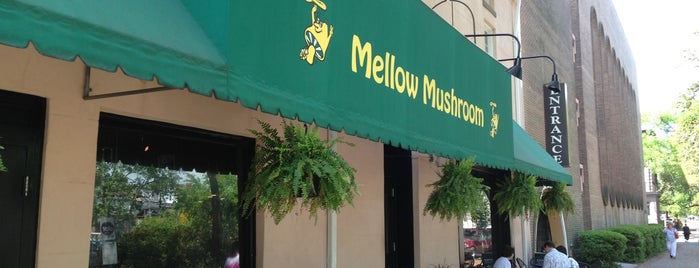 Mellow Mushroom is one of Gnatty Savannah.