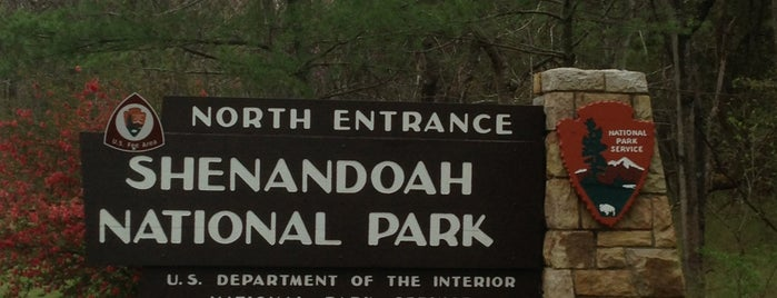 Shenandoah National Park is one of Virginia.