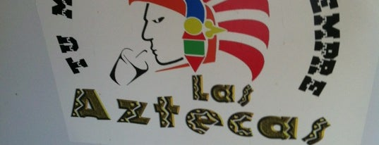 Las Aztecas is one of Locais curtidos por Laura.