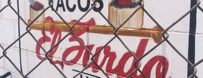 Tacos El Zurdo is one of Locais curtidos por Gaston.