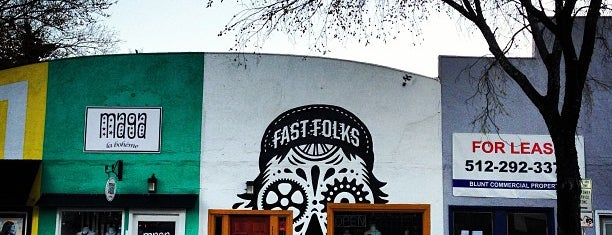 Fast Folks Cyclery is one of SXSW.