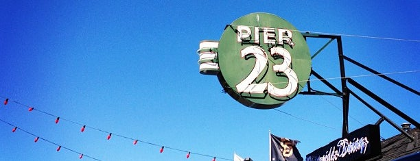 Pier 23 is one of San Fran.