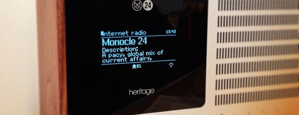 Monocle is one of Orte, die Ethan gefallen.