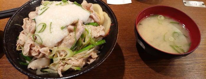 Sutadonya is one of 食事.