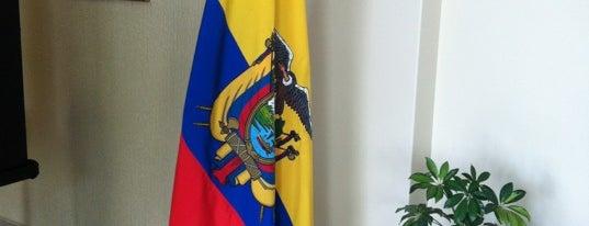 Embajada de Ecuador is one of Orte, die David gefallen.