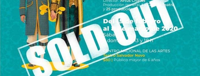 Teatro Salvador Novo is one of Locais curtidos por Claudia.