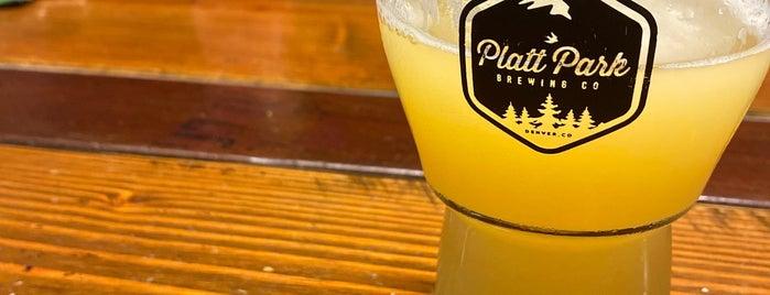 Platt Park Brewing Co is one of Craft Brewing Guide: Denver Colorado.
