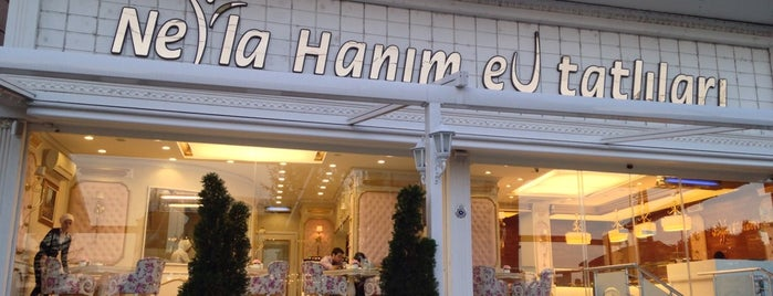 Nejla Hanım Ev Tatlıları is one of Ordan burdan.