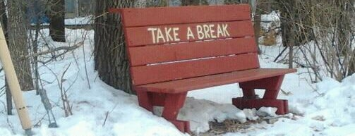 The Taking A Bench is one of more to do list.